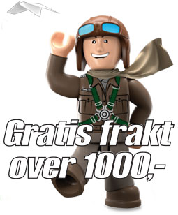 Cobi fri frakt over 1000